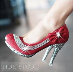USD$ 30.89 Shining Closed Toe Stiletto Heels Prom/Evening Shoes Prom Shoes: tidestore.com