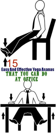 Easy And Effective Yoga Asanas That You Can Do At Office