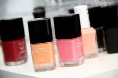 Chanel May and June nail polish