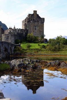 Eilean Donan Castle, Scotland (A lesser seen view. ~ℛ)