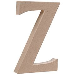 """Z"" for the alphabet wall"