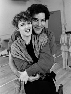 "Bernadette Peters, Mandy Patinkin. ""Sunday in the Park with George"" another one of my favorite shows."