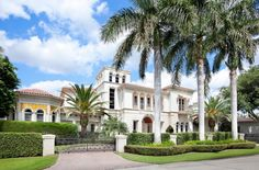 Gated Mediterranean mansion, Boca Raton, Florida