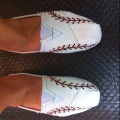 baseball toms, shoes flats toms, toms shoes painted, softball toms, basebal tom, toms shoes baseball, basebal mom, 600600 pixel, baseball shoes