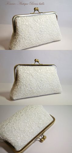 EllenVintage Alencon Lace  Silk Clutch Choose your by ellenVintage, $75.00