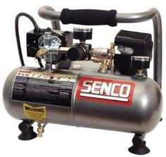 Senco PC1010 1-Horsepower Peak, 1/2 hp running 1-Gallon Compressor - Amazon.com
