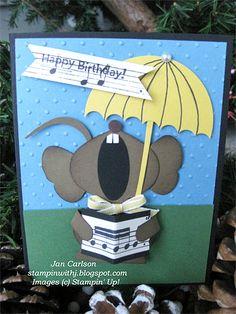 Mouse Umbrella Punch Art