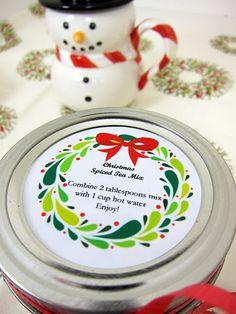 Christmas Spiced Tea Mix
