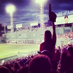 There's nothing like the Fenway Park crowd on a summer night.