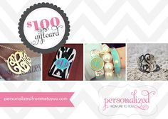 person, mama laughlin, giveaway, gifts, gift cards, free monogram, blog, monogram monogram, thing