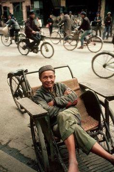 Xích lô Hà Nội ~ Old Hanoi rickshaw