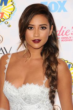 Shay Mitchell at Teen Choice Awards, arrivals, Los Angeles, America - 10 Aug 2014