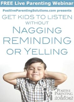 Free webinar July 16, 2013: How to Get Kids to Listen! Let's Find Out the Secret!