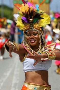 Curacao masquerader