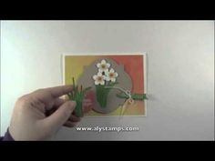 Daffodil Punch Art - Monday Minute Stamping Tip - YouTube