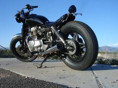 1980 honda cm400 brat style bike!