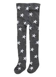 Star tights for little girls
