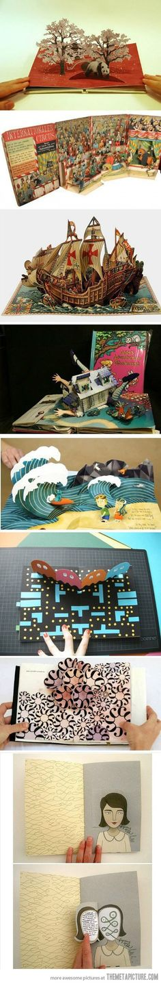 And this is why pop-up books are awesome…