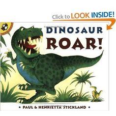"""Dinosaur Roar!"" by Paul Stickland"