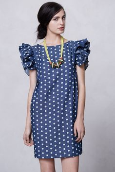 Dolly Chambray Dress - Anthropologie.com