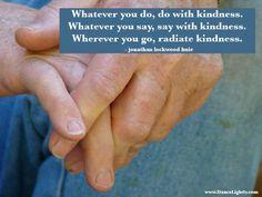 kindness speaks