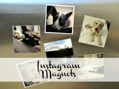 The Junk House: DIY Instagram Magnets
