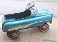Vintage Antique Toy Pedal Car 1950- 1960
