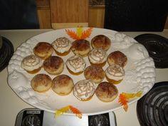 Pumpkin ginger cupcakes / dessert -- fall harvest & Thanksgiving, Craftster.org