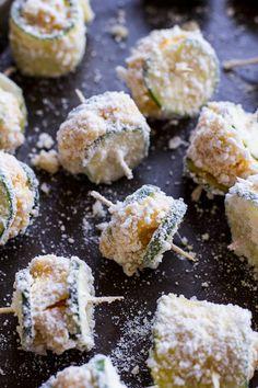 chees stuf, fri zucchini, stuf fri