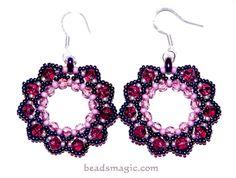 Berry Juice Earrings