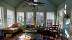 Fabulous picture taken of my sunroom by David!