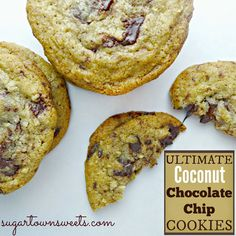 Sugartown Sweets: Ultimate Coconut Chocolate Chip Cookies