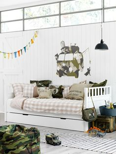 I love this room for a boy!!!