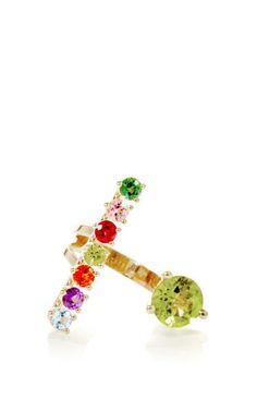Gold Vein Ring by Delfina Delettrez for Preorder on Moda Operandi