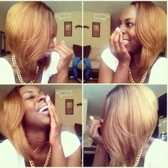 Kinda Want This Color In My Head, Even Though I'm DarkSkinned. But Idc.. It's Good To Be Different.. RIGHT ? (: