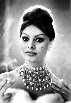 Sophia Loren photographed by Luc Fournel, 1960s