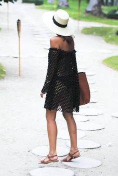 Easy off the shoulder dress