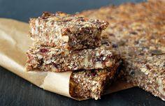 Sugar free coconut granola bars! Use my coconut banana granola for this recipe/