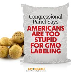 It's pretty rare that members of Congress and all the witnesses they've called will declare out loud that Americans are just too ignorant to be given a piece of information, but that was a key conclusion of a session of the House Agriculture Committee this week. More here: http://www.huffingtonpost.com/2014/07/10/gmo-labels-congress_n_5576255.html #GMOs #LabelGMOs #righttoknow #US #food