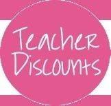 GREAT Teacher discounts