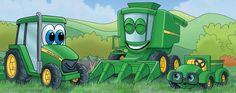 John Deere Kids - great site for kids who love John Deere or farming
