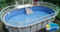 Florance with deck and fence. http://www.abovegroundpoolbuilder.com/florence