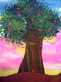 Texture- Apple Trees