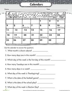 math worksheet : calendar worksheets for kindergarten  calendar worksheets for  : Calendar Math Worksheets