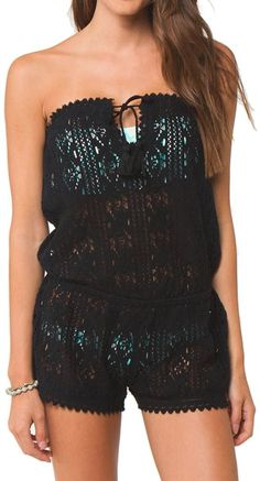 Lace Cover-Up Romper ♥