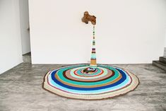 Perú-based artist Ana Teresa Barboza uses yarn, thread, wool, and fabric to produce unique, tactile embroidery works.