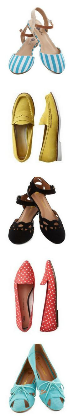 Spring Shoes:  Trendy Flats