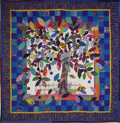 Tree of Life, wall quilt
