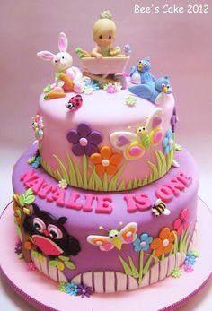 Toddler 1st birthday cake