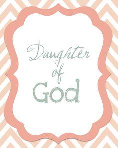 daughter of God.